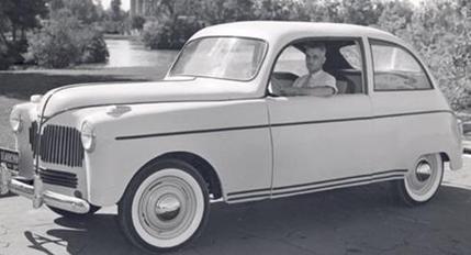 Ford Hemp Car Carver