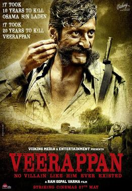 Veerappan 2016 Full Movie Download Free in Dvdrip 480p Hindi