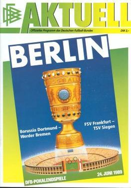 dfb pokal finale 1989