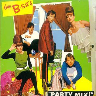 <i>Party Mix!</i> 1981 remix album by The B-52s