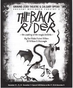 <i>The Black Rider</i> musical