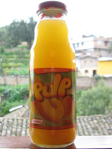 300 ml Pulp juice bottle