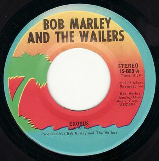 Exodus (Bob Marley & The Wailers song) 1977 single by Bob Marley & The Wailers