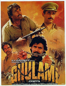 <i>Ghulami</i> 1985 Hindi-language Indian feature film directed by J.P. Dutta