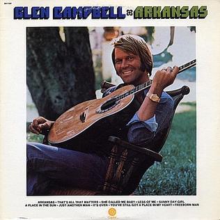 <i>Arkansas</i> (Glen Campbell album) 1975 compilation album by Glen Campbell