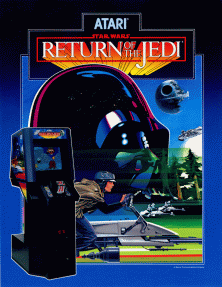 Return of the Jedi arcade artwork