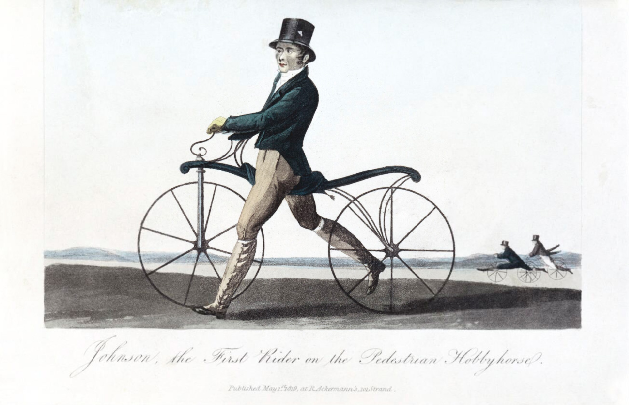 one of the first bicycles
