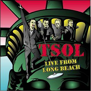 <i>Live from Long Beach</i> 2008 live album by T.S.O.L.