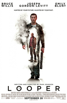 Film poster of Looper (courtesy Wikipedia)