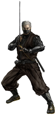 Rikimaru in Tenchu  Shadow AssassinsRikimaru Tenchu Art