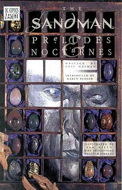Image result for sandman preludes and nocturnes gaiman
