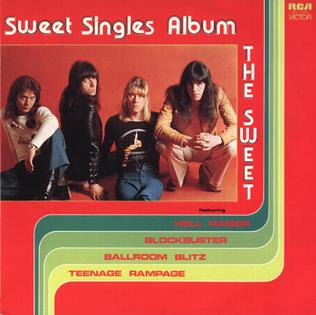<i>The Sweet Singles Album</i> 1975 compilation album by Sweet