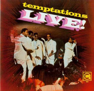 Temptations Live! artwork