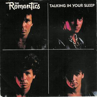 Image result for Talking in Your Sleep The Romantics pictures