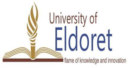 Image result for University Of Eldoret Logo
