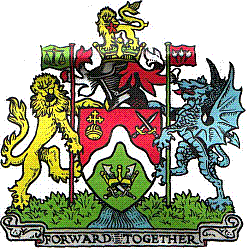 Coat of arms of the London Borough of Brent