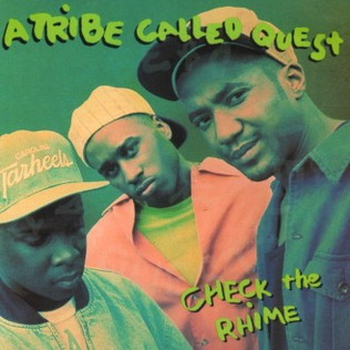Cover image of song Check the Rhime by A Tribe Called Quest