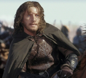 David Wenham as Faramir in Peter Jackson's Lor...