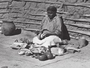 Ida Redbird Maricopa potter (1892-1971)