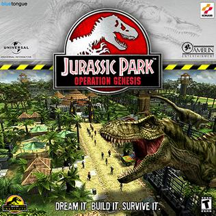 Picture of a game: Jurassic Park: Operation Genesis