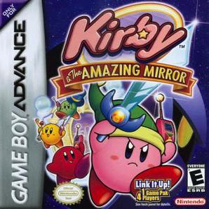 Kirby Amazing Mirror Orange Spray Paint