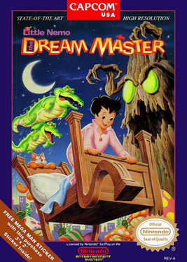 Picture of a game: Little Nemo: The Dream Master