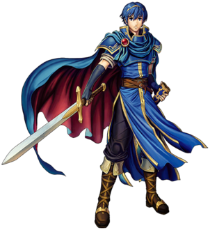 Marth (<i>Fire Emblem</i>) character from Intelligent Systemss Fire Emblem series of video games