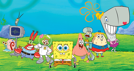 Spongebob Squarepants Family