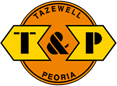 Tazewell and Peoria Railroad logo.png