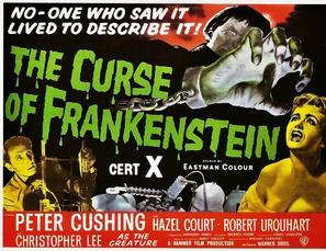 <i>The Curse of Frankenstein</i> 1957 film by Terence Fisher
