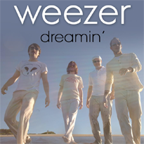 Weezer - Dreamin' single cover