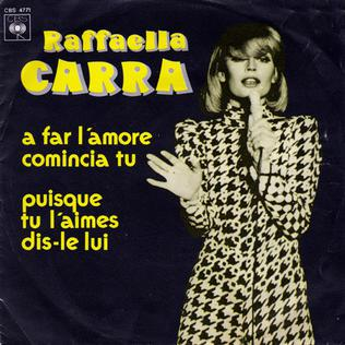 song by Raffaella Carrà