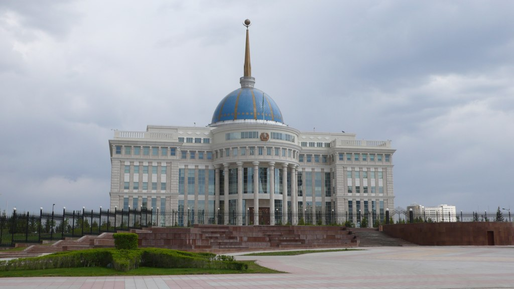 The Royal Coalition Ak_Orda_Presidential_Palace