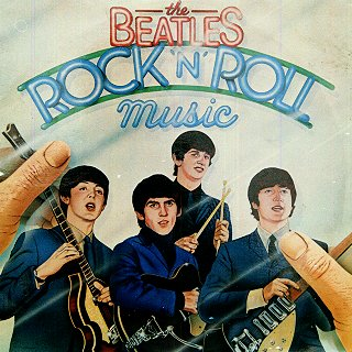 <i>Rock n Roll Music</i> (album) 1976 double compilation album by The Beatles