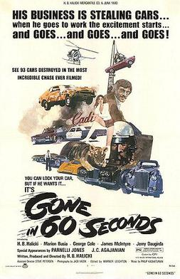 gone in 60 seconds 1974 dvd