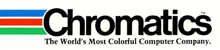 Logo for Chromatics, color graphics computer manufacturer.png