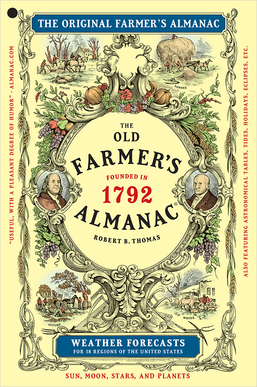 Picture of a book: Farmers' Almanac
