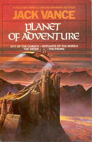<i>Planet of Adventure</i> Book series by Jack Vance