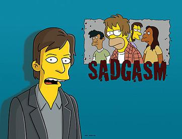 The Simpsons - 19x11 - That 90's Show Sadgasm
