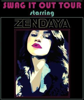 Zendaya swag it out