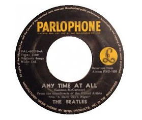 Any Time at All original song written and composed by Lennon-McCartney