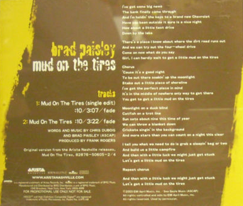 Mud on the Tires (song) - Wikipedia