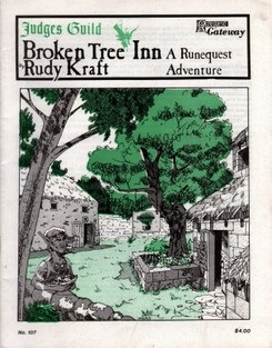 <i>Broken Tree Inn</i> Tabletop Fantasy role-playing game adventure