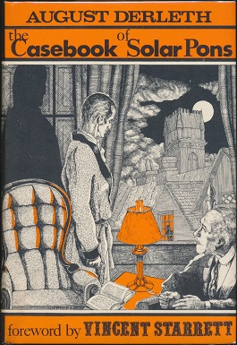 <i>The Casebook of Solar Pons</i> book by August Derleth