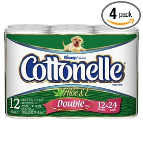Cottonelle brand of toilet paper
