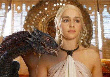 File:Daenerys Targaryen with Dragon-Emilia Clarke.jpg