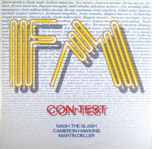 <i>Con-Test</i> 1985 studio album by FM