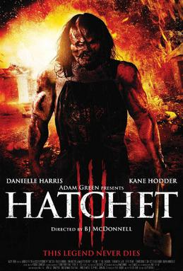 Picture of a movie: Hatchet 3