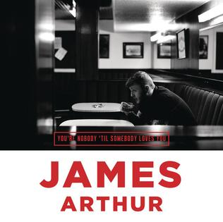 James Arthur - You're Nobody 'til Somebody Loves You (studio acapella)