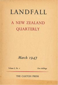 <i>Landfall</i> (journal) New Zealand literary magazine